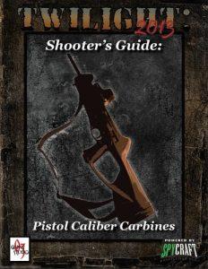 pistolcalibercarbines