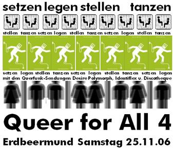 querfunk-party im erdbeermund am 25.11.