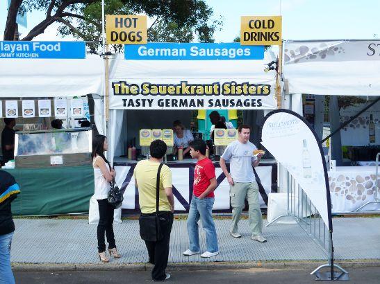 Tasty German Sausages