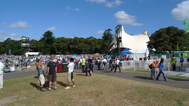 Sydney Festival in The Domain.