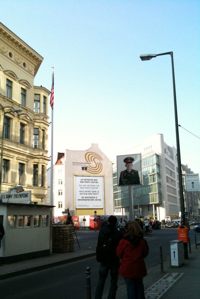 Checkpoint Charlie. 4 Mars 2011