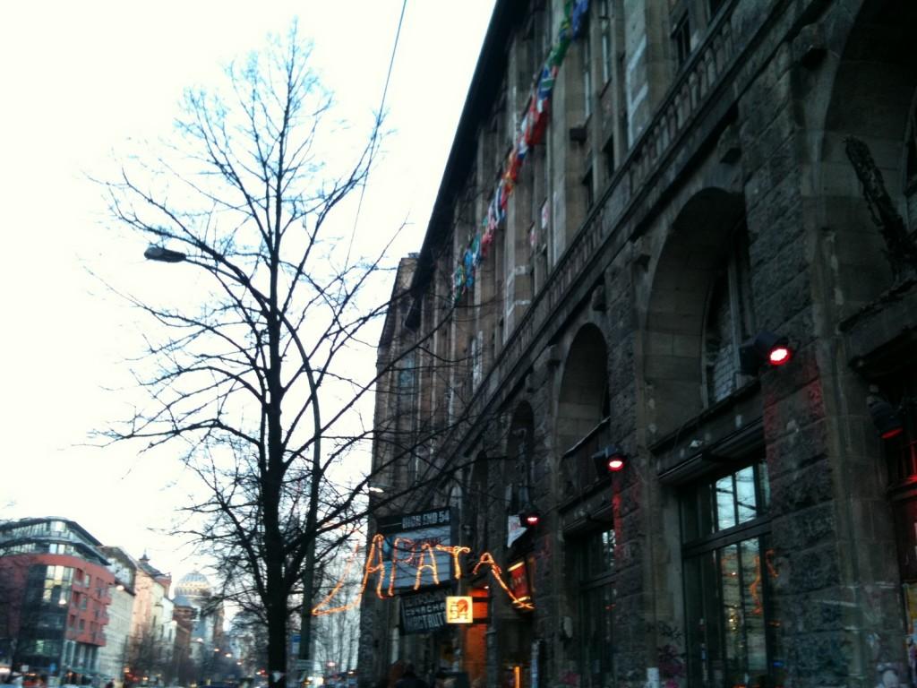 Le Tacheles. Berlin, 4 mars 2011