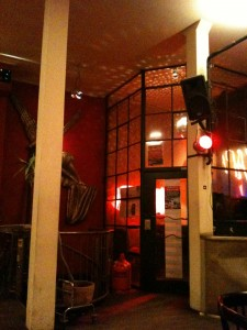 L'entrée du Studio 54. Berlin, 4 mars 2011