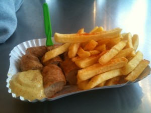 Mon currywurst sans ketchup !