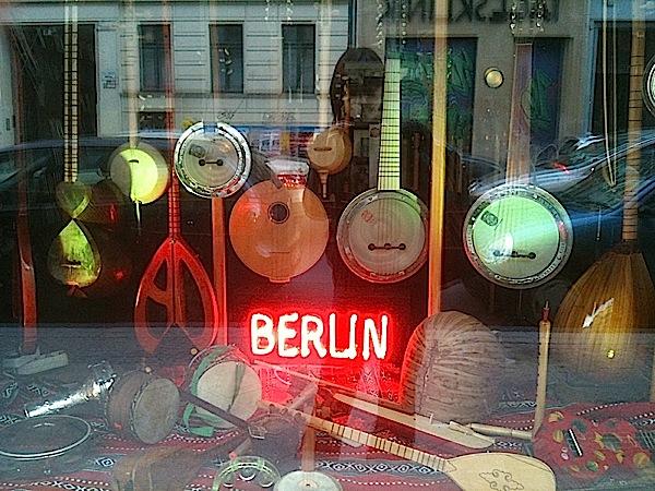 Magasin de musique orientale dans Friedrichshain