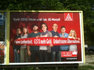 Campagne IG Metall