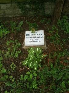Pahrmann, 19 ans. Révolution de 1848.