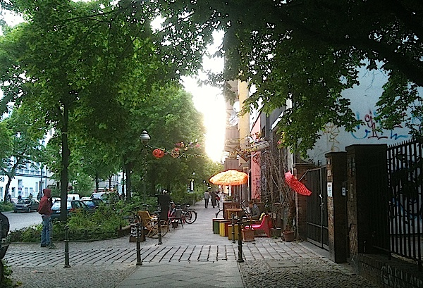 Café-ciné-DVD, Friedrichshain