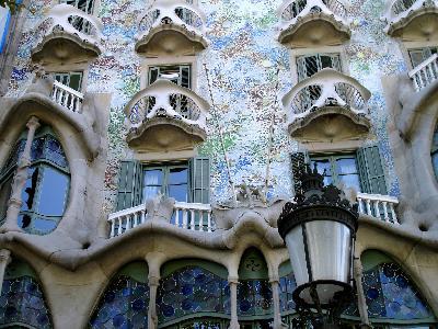 Barcelone Gaudi Espagne Europe